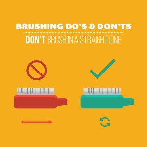 brushing how to