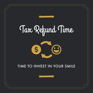 tax refund smile